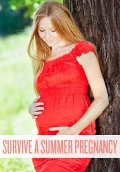 Need tips on surviving a summer pregnancy or just want to know someone else has been through it, too?  You'll want to read this.