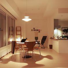 Yoheiさんの、Overview,セブンチェア,脚立,フランフラン照明,サイクロンテーブル,地元LOVE,ムパタについての部屋写真