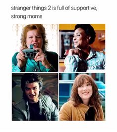 i like season 2 steve better than season 1 steve. mom steve is great
