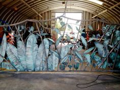 tropical metal decorative gates
