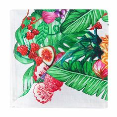 Tropical Fruit Napkin (Pack of 4) | ZARA HOME United States of America