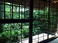 京都瓢亭本店築400年の茶室でいただく朝がゆ