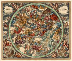 Celestial Maps Cellarius, Andreas