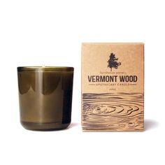 Vermont Wood Pine Candle by Farmhouse Pottery