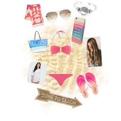 Designer Clothes, Shoes & Bags for Women Summer Fashion For Teens, Teen Fashion, Melissa Odabash, Bling Jewelry, Billabong, Juicy Couture, Polyvore Fashion, Beach, Shopping