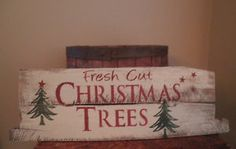 Image result for reclaimed wood tree farm signs