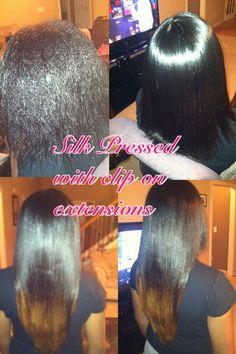 Astonishing Before And After Natural Hair To Silk Press Hair Hair And More Hairstyle Inspiration Daily Dogsangcom