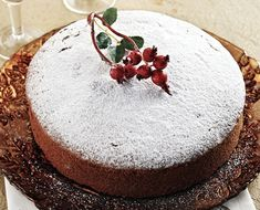 On New Year's Day, Greek families cut the Vasilopita to bless the house and bring good luck for the new year.