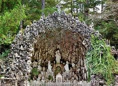 Ave Maria Grotto in Cullman, Alabama. Grew up a block away from this magical place.