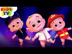 Kaboochi by Kids TV - The nursery rhymes channel for kindergarten aged children. These kids songs are great for learning the alphabet, numbers, shapes, color. Baby Songs, Kids Songs, Monster Truck Videos, Tiny Monkey, Learn Animation, Five Little Monkeys, Phonics Song, Kids Background, Kindergarten Age