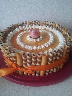 Quark - Pfirsich - Sahne - Torte 4