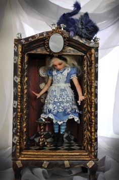 Alice through the looking glass. I just happen to really like this picture...AND... I like the subject matter!
