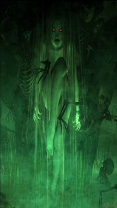 green witch Mobile Screensavers available for free download.