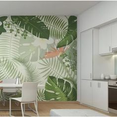 Wall Painting Decor, Mural Wall Art, Diy Wall Decor, Bedroom Decor, Wall Stencil Patterns, Kids Room Murals, Colourful Living Room, Home Wallpaper, Home And Deco
