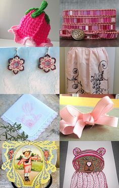 FEELING PINK by ItseeBitsee on Etsy--Pinned with TreasuryPin.com