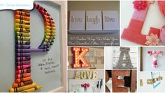Decorating with Letters and Words: 37 Striking Tutorials Show You How to Make Your Own