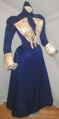 1897 dress.
