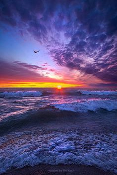 Ocean Sunset ~ Marvelous Nature