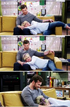"""A Mother of a Day"" - Danny and Riley Baby Daddy Riley, Baby Daddy Tv Show, Big Daddy, Power Couples, Tv Couples, Love Movie, Movie Tv, Derek Theler, Melissa & Joey"