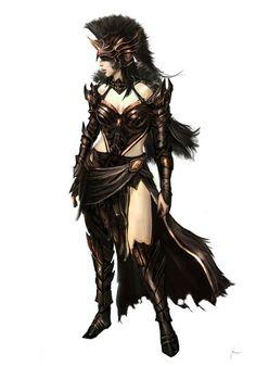 Human female concept
