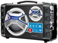 Som Portátil 50W Bluetooth USB Rádio FM - Multi Connect MCO-03 - Mondial