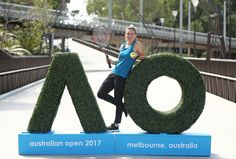 Simona Halep Photos Photos - Simona Halep of Romania poses during a photocall at the new entrance to the Australian Open 2017 ahead of the 2017 Australian Open at Melbourne Park on January 8, 2017 in Melbourne, Australia.  Tanderrum Bridge now provides a seamless link from the city and Birrarung Marr to Melbourne Park, with the new entry point of the Australian Open Festival. - 2017 Australian Open - Previews