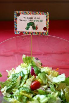 ** Chic Tags- delightful paper tags **: Hungry Caterpillar Party- recap