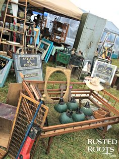 Best Place to Shop 127 Yard Sale Kentucky #RustedRoutes