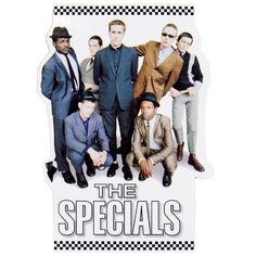 The Specials - Photo - Decal