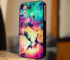 Beautiful Galaxy Space Nebula - iPhone 4 Case,