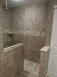 Shower idea...half wall/no door :) … | Pinteres…