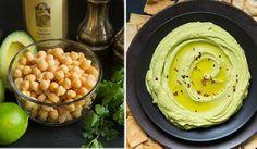 Fit-Recept na svěží avokádový hummus ve 2 krocích Quick Healthy Meals, Quick Recipes, Hummus, Tahini, Kitchen Hacks, Paleo, Veggies, Cooking, Breakfast