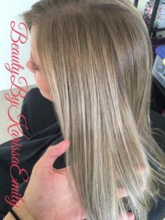 blonde hair ash blonde babylights cool blonde #beautybykarissaemily