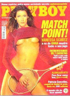 VANESSA SCHÜTZ BRAZIL PLAYBOY MAGAZINE JULY 2000