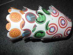 Marvel  Inspired Cupcake Wrappers   Disney Marvel    Thor Hulk  Iron Man Captain America Superhero on Etsy, $4.99