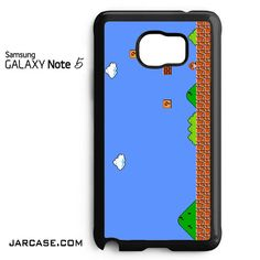 super mario bross game Phone case for samsung galaxy note 5 and another devices