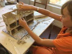 Story House, Local Artists, Teaching Kids, Have Fun, Spirit, Clay, Studio, Big, Building