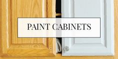 Paint your kitchen cabinets gray with milk paint