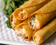 These are SOOO good! You will love these Cream Cheese and Chicken Taquitos. They are a great dinner recipe that the whole family will enjoy!