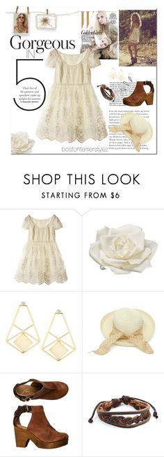 """""""Gorgeous in 5 Items"""" by bostonterrierstylez ❤ liked on Polyvore featuring Jill Stuart, Allstate Floral, Old Navy, Free People, West Coast Jewelry and bostonfiveitemchallenge"""