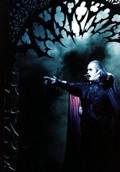 """Steve Barton† (b. 1954 - d. 2001) as Graf von Krolock in """"Tanz der Vampire"""" (Vienna)"""
