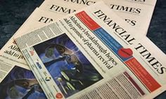 The Financial Times caused a stir on financial markets Thursday after erroneously reporting that the European Central Bank was to leave interest rates unchanged, minutes before the ECB actually cut a key rate. Financial Times, Financial Markets, Uk Companies, Gender Pay Gap, News Around The World, Time Magazine, World Market, Business News, Finance