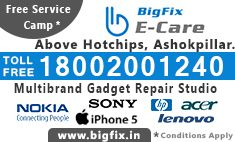 Call 18002001240 for out warranty service support on any of your branded gadgets