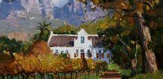 Cape Dutch, South Africa, Painting, Art, Art Background, Painting Art, Kunst, Paintings, Performing Arts