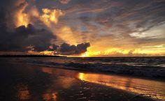 Sunset at Casuarina Beach, Darwin, NT, Australia
