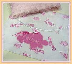 manta con guarda-manta personalizada