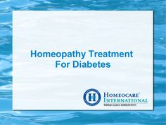 Diabetes is the stage where the type of different process in which there is too much glucose in the blood. The pancreas either cannot prepare insulin or the insulin does not work properly.  Homeopathic treatment has good scope and many people are satisfied with the results. The homeopathic approach is very effective for diabetes. It can be attended at Homeocare International. It provides a good solution for diabetes in people across the South India through the natural homeopathic approach.