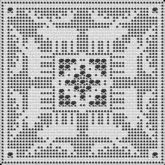 Filet Crochet Pattern by Jennifer Creasey