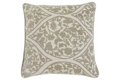 Tan Stitched Pillow and Insert by Ashley Furniture