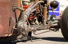Rat Rod Exhaust Art
